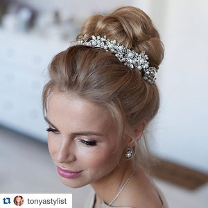 Large Bridal Statement Wedding Headpiece