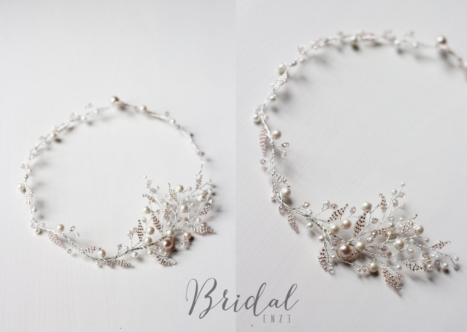 Baby Glass Bridal Halo