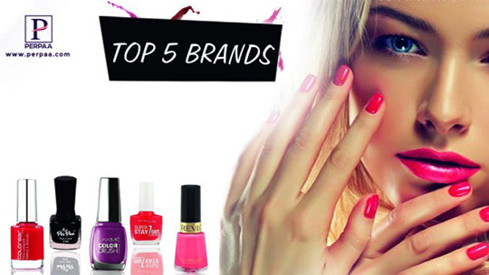 Top 5 Affordable Nail Paints Brands Available in India