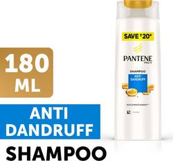 Pantene Anti Dandruff Shampoo, 180ml