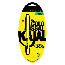 Maybelline New York The Colossal Kajal 24HR Smudge Proof  (0.35gm)