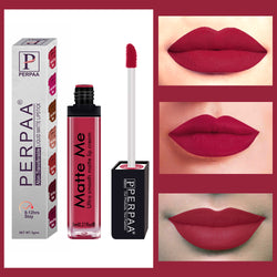 Perpaa One Stroke Matte Me Liquid Lipstick (5 ml)