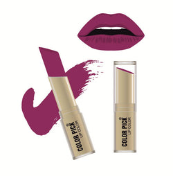 Color Pick Italina Matte Lipstick (5-8 hrs) Purple