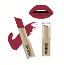 Color Pick Italina Matte Lipstick (5-8 hrs) Red