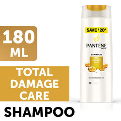 Pantene Total Damage Care Shampoo, 180ml