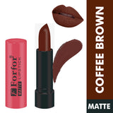 FORFOR Stylish Matte Lipstick - Rose Red