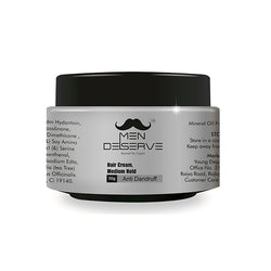 Men Deserve Hair Styling Cream Medium Hold – 50 Gm