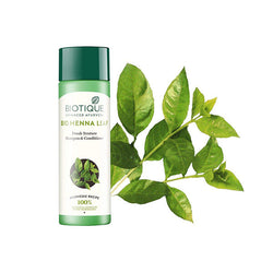 Biotique Bio Heena Leaf Fresh Texture Shampoo and Conditioner