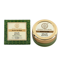 Khadi Natural Kiwi Fruit Lip Balm - With Beeswax & Honey