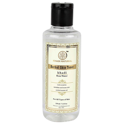 Khadi Natural Natural Rose Water Toner - 210ml