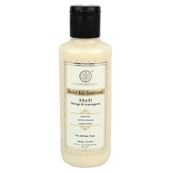 Khadi Natural Herbal Orange Lemongrass Hair Conditioner - 210ml