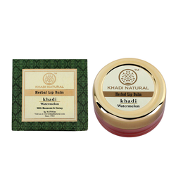 Khadi Natural Watermelon Lip Balm - With Beeswax & Honey