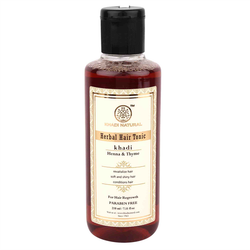 Khadi Natural Henna Thyme Hair Tonic - 210ml
