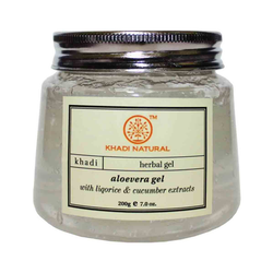 Khadi Natural Aloevera Gel With Liqorice & Cucumber Extracts