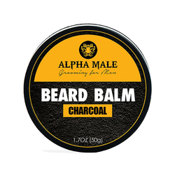 Alpha Male Beard Balm Charcoal