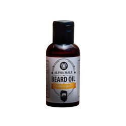 Alpha Male Beard Oil Ambrer