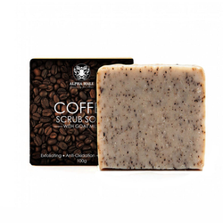 Alpha Male Coffee Scrub Soap