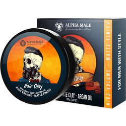 Alpha Male Grooming Matte Finish Clay Hair Styler