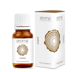 Aroma Treasures Camphor  Essential Oil  100% Pure & Natural - 10 ml