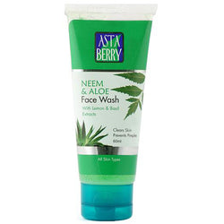 Astaberry Neem & Aloe Face Wash (60 ml)