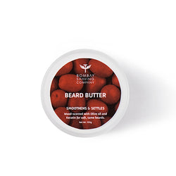 Bombay Shaving Beard Butter Smoothens And Settles Wood-Scented 100 gm