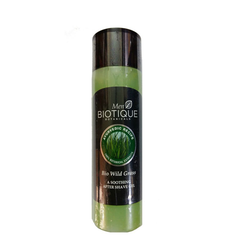 BIOTIQUE BIO WILD GRASS (A SOOTHING AFTER SHAVE GEL FOR MEN) - 120 ML