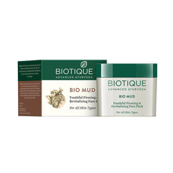 BIOTIQUE BIO MUD YOUTHFUL FIRMING & REVITALIZING FACE PACK - 75 GM