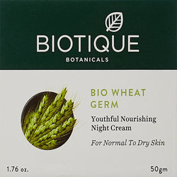 Biotique Wheat Germ Youthful Nourshing Night Cream
