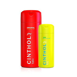 Cinthol Original Talc 300gm+Cinthol Lime Talc 100gm