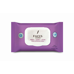 Faces Fresh Clean Glow Makeup Remover Wipes 30N