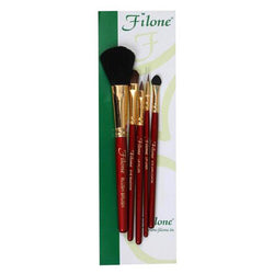 Filone Make-up Brush Set of 5 (lip liner brush, lip filler brush, eye shadaw brush, eye applicator and blush on brush)_FMB004
