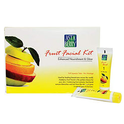 Astaberry Fruit Facial Kit + Free Astaberry Face Wash 60Ml