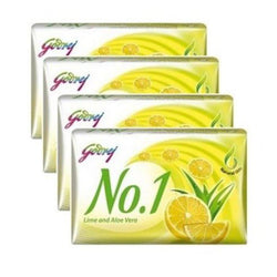 Godrej No.1 Lime & Aloe Vera Soap 150gm