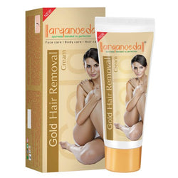 Aryanveda Gold Hair Removal Cream 40gm (Pack of 5)
