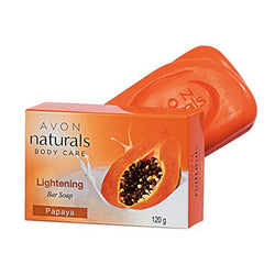 Avon Naturals Lightening Bar Soap - Papaya (100g)