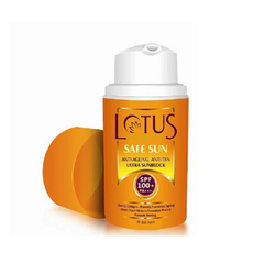 Lotus Herbals Safe Sun Anti-Ageing, Anti-Tan Ultra Sunblock SPF-100+ PA+++_30ml