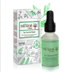 Natural Vibes Tea Tree Ayurvedic Hair Repair Serum 30ml