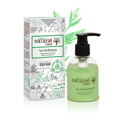 Natural Vibes Tea Tree Ayurvedic Shampoo 150 ml