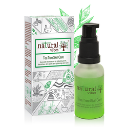 Natural Vibes Tea Tree Ayurvedic Skin Care Serum 30 ml