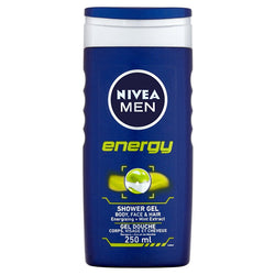 Nivea Energy Shower Gel For Men 250ml