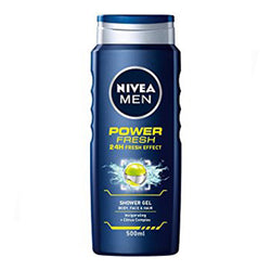 Nivea Power Refresh Shower Gel For Men 250ml