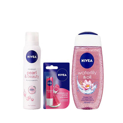 Nivea Women Shower Gel & Deodorant Combo