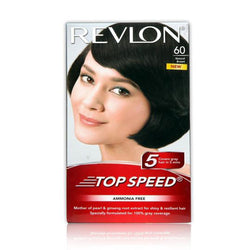 Revlon Top Speed Hair Color Woman - Natural Brown 60 (40 gm)