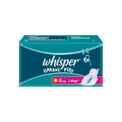 Whisper Sanitary Pad Maxi Fit L Wing (8S)