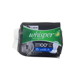 Whisper Ultra Night  Pads XXL Wings Size Pack 5 Pads