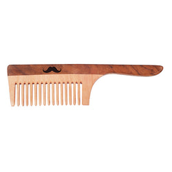 Men Deserve Neem & Shisham Wooden Hair Comb (Hand Made)