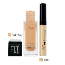 Combo Fit Me Matte Poreless + Fit Me Concealer