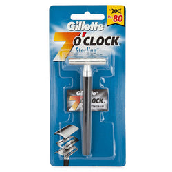 Gillette 7 O'Clock Sterling DE Razor