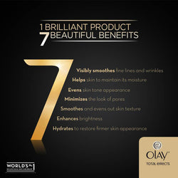 Olay Total Effects 7-in-1 Anti- Ageing Night Firming Cream,  50gm