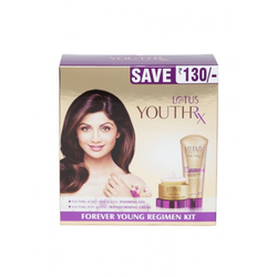 Lotus Herbals Youthrx Foreover Young Regimen Kit